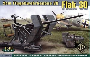 Flak 30 German Anti-Aircraft Gun
