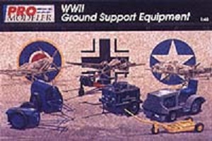 WWII Ground Support Equipment