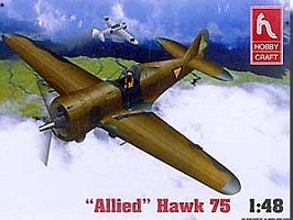 Curtiss Hawk 75 - Hobby Craft Hawk 75