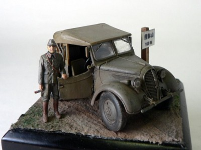 Kurogane Japanese 4x4 Light Vehicle Type 95 - Tamiya