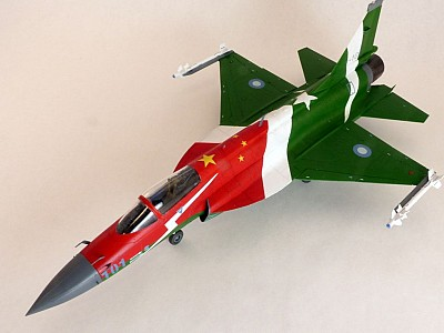 Chinese FC-1 Fierce Dragon / Pakistani JF-17 Thunder
