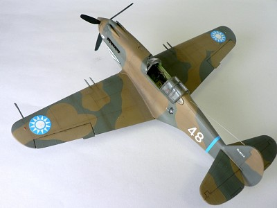 P-40B AVG - 3rd in series Tex Hil -  Monogram